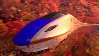 JR東日本CM「新幹線YEAR2017 四季を走る新幹線」