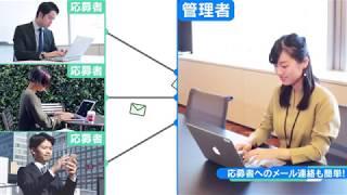 ジョブカン採用管理採用HP PV